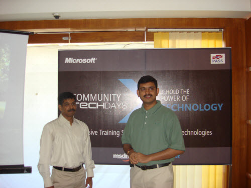 SQLAuthority News - Community TechDays in Ahmedabad - A Successful Event - Oct 3, 2009 CTD11