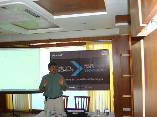 SQLAuthority News - Community TechDays in Ahmedabad - A Successful Event - Oct 3, 2009 CTD3
