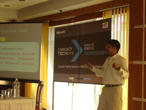 SQLAuthority News - Community TechDays in Ahmedabad - A Successful Event - Oct 3, 2009 CTD8