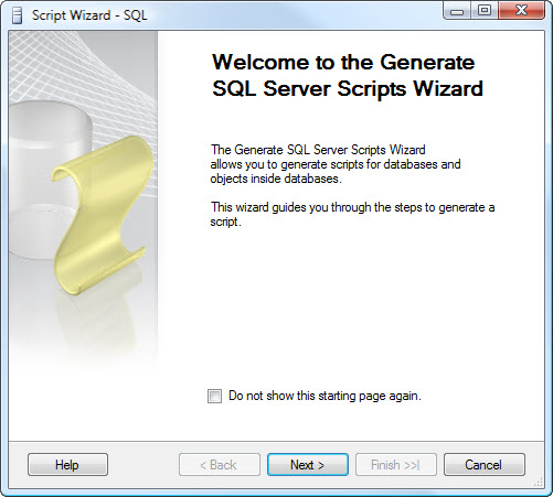 SQL SERVER - 2008 - Copy Database With Data - Generate T-SQL For Inserting Data From One Table to Another Table data2