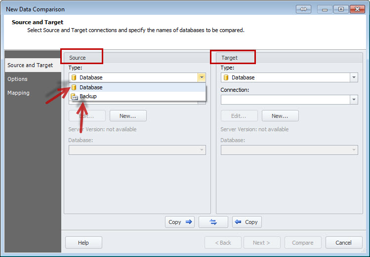 SQL SERVER - An Efficiency Tool to Compare and Synchronize SQL Server Databases datacomp2