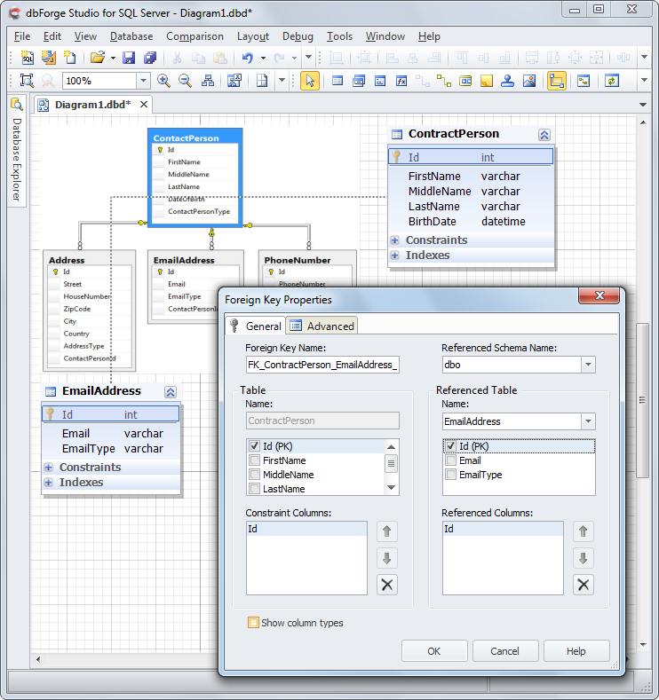 SQL SERVER - How to easily work with Database Diagrams dd-img3