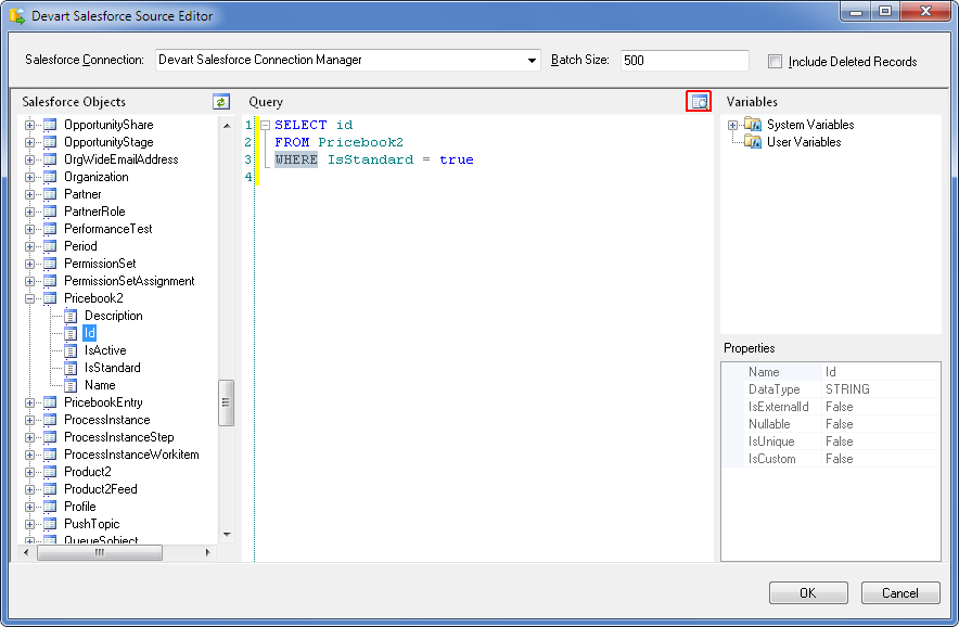 SQL SERVER - Using SSIS to Import CSV File into Salesforce Online Database with dotConnect for Salesforce from Devart 18