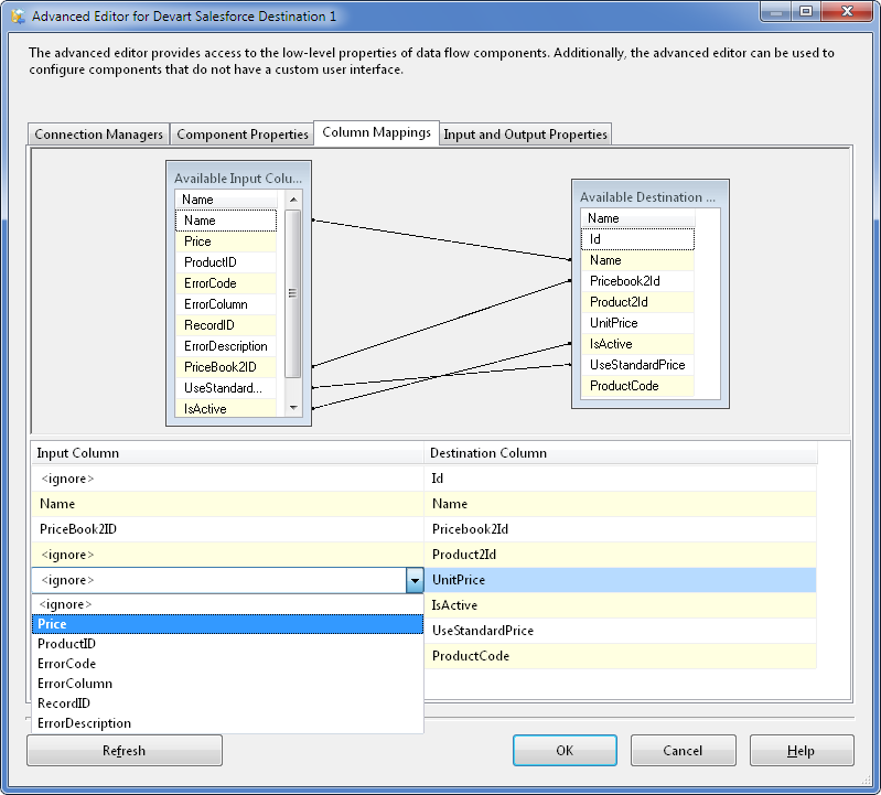 SQL SERVER - Using SSIS to Import CSV File into Salesforce Online Database with dotConnect for Salesforce from Devart 26