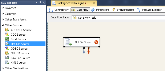 SQL SERVER - Using SSIS to Import CSV File into Salesforce Online Database with dotConnect for Salesforce from Devart 3
