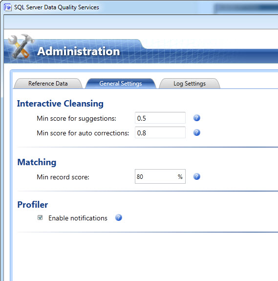 SQL SERVER - Configuring Interactive Cleansing Suggestion Min Score for Suggestions in Data Quality Services (DQS) - Sensitivity of Suggestion  dqs-4