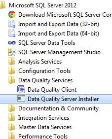 SQL SERVER - Installing Data Quality Services (DQS) on SQL Server 2012 dqs1
