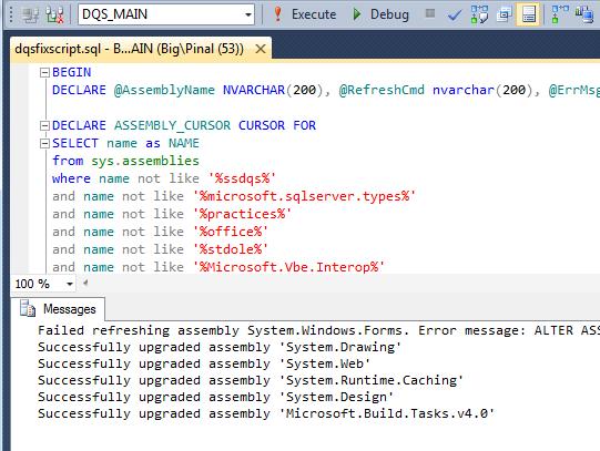 SQL SERVER - DQS Error - Cannot connect to server - A .NET Framework error occurred during execution dqserrorfix