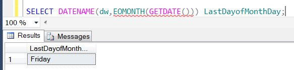 SQL SERVER - Denali - Date and Time Functions - EOMONTH() - A Quick Introduction eomonth4