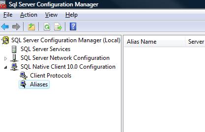 SQL SERVER - FIX : ERROR : (provider: Named Pipes Provider, error: 40 - Could not open a connection to SQL Server) (Microsoft SQL Server, Error: ) e40_11