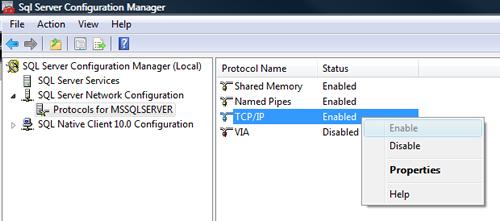 SQL SERVER - FIX : ERROR : (provider: Named Pipes Provider, error: 40 - Could not open a connection to SQL Server) (Microsoft SQL Server, Error: ) e40_2
