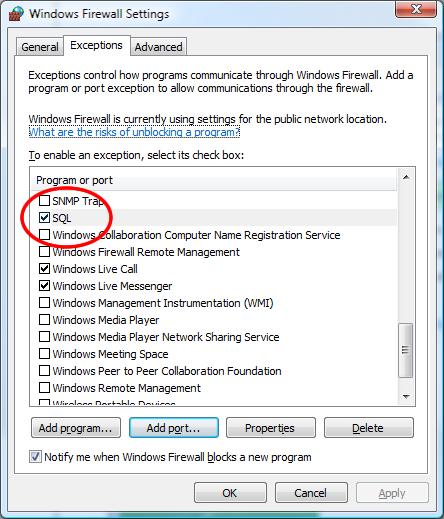 SQL SERVER - FIX : ERROR : (provider: Named Pipes Provider, error: 40 - Could not open a connection to SQL Server) (Microsoft SQL Server, Error: ) e40_6