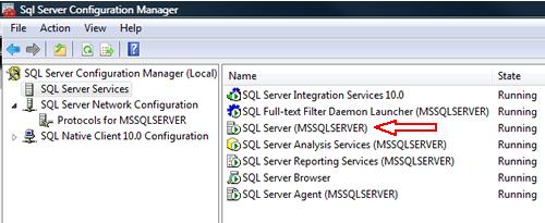 SQL SERVER - FIX : ERROR : (provider: Named Pipes Provider, error: 40 - Could not open a connection to SQL Server) (Microsoft SQL Server, Error: ) e40_7