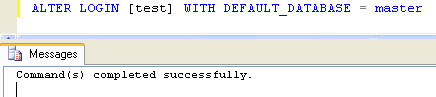 SQL SERVER - Fix : Error: 4064 - Cannot open user default database. Login failed. Login failed for user error4064_3