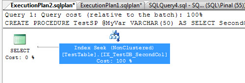 SQL SERVER - Get Query Plan Along with Query Text and Execution Count explan2