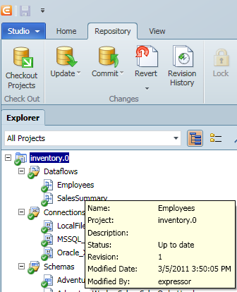 SQL SERVER - Sharing your ETL Resources Across Applications with Ease expressor_artifact