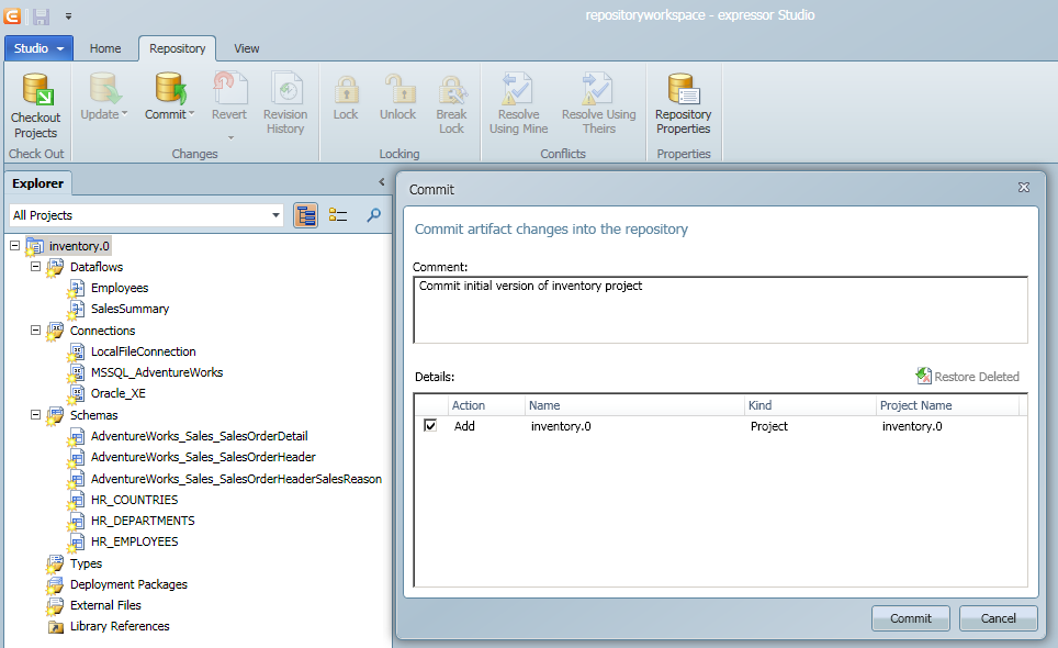 SQL SERVER - Sharing your ETL Resources Across Applications with Ease expressor_repository