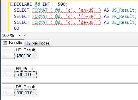 SQL SERVER - Denali - String Function - FORMAT() - A Quick Introduction format2