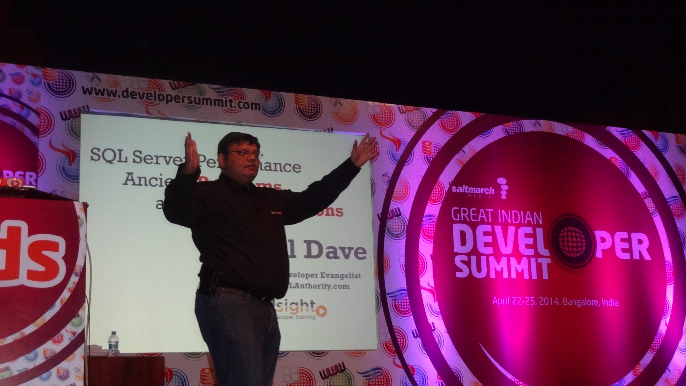 SQLAuthority News - Great Time Spent at Great Indian Developers Summit 2014 gids2014 (4)