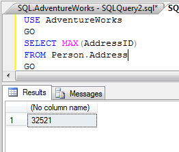 SQL SERVER - Find Current Identity of Table identity1