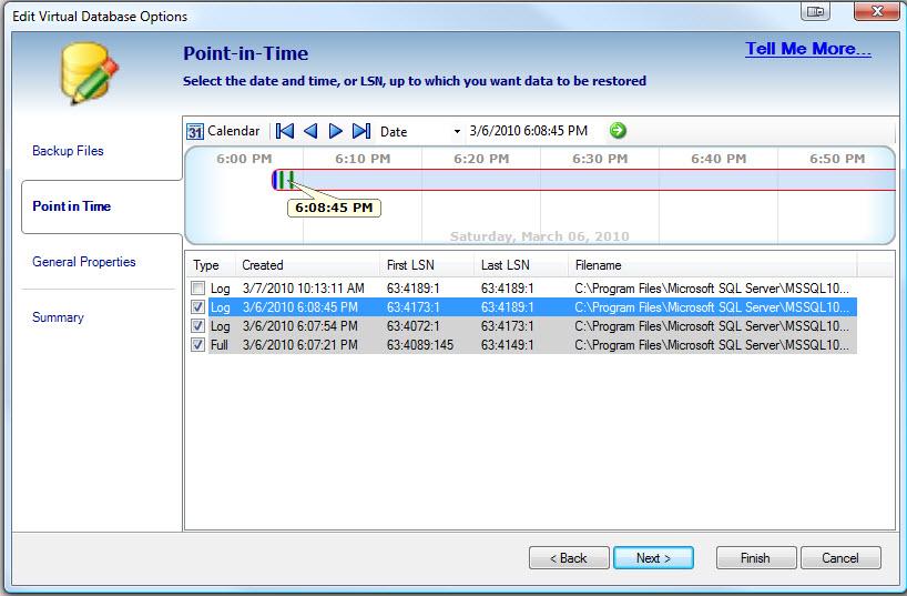 SQL SERVER - Retrieve and Explore Database Backup without Restoring Database - Idera virtual database vdb9