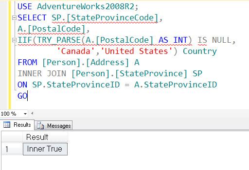 SQL SERVER - Denali - Logical Function - IIF() - A Quick Introduction iif5