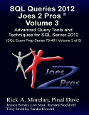SQL Queries 2012 Joes 2 Pros Combo Kit (Set of 5 Volumes) SQLQueries2012Vol3-s