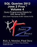 SQL Queries 2012 Joes 2 Pros Combo Kit (Set of 5 Volumes) SQLQueries2012Vol4-s