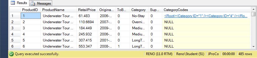 SQL SERVER - XML Data Type- SQL Queries 2012 Joes 2 Pros Volume 5 - XML Querying Techniques for SQL Server 2012 j2p12-5-2