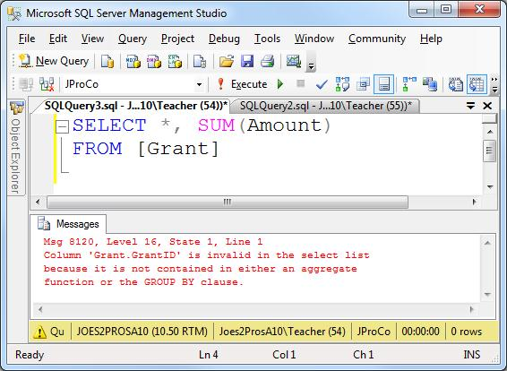 SQL SERVER - Tips from the SQL Joes 2 Pros Development Series - Aggregates with the Over Clause - Day 10 of 35 j2p_10_2