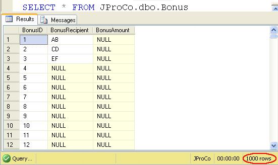 SQL SERVER - Tips from the SQL Joes 2 Pros Development Series - Sparse Data and Space Used by Sparse Data - Day 17 of 35 j2p_17_10