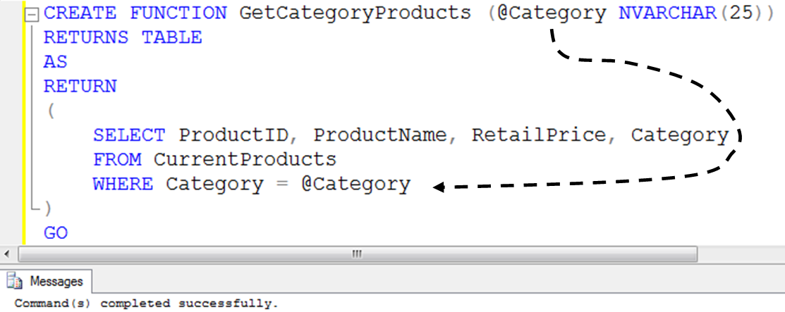 SQL SERVER - Table Valued Functions - Day 26 of 35 j2p_26_5