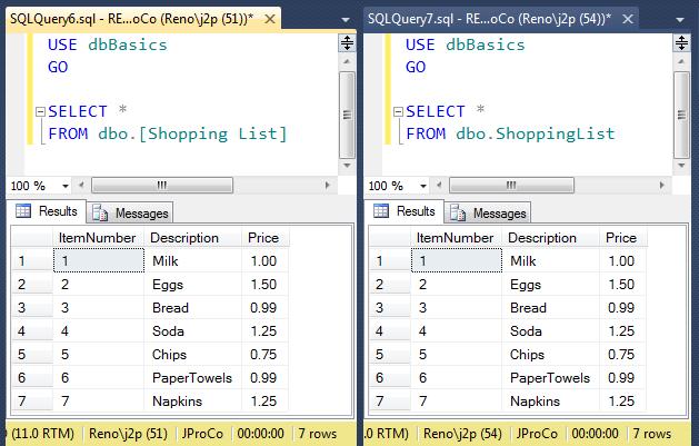 SQL SERVER - SQL Basics: SQL Code Generators - Day 6 of 10 j2pbasics-6-2