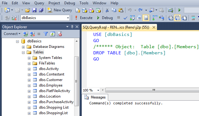 SQL SERVER - SQL Basics: SQL Code Generators - Day 6 of 10 j2pbasics-6-5