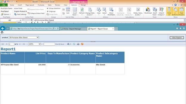 SQL SERVER - What are Actions in SSAS and How to Make a Reporting Action kssas-11