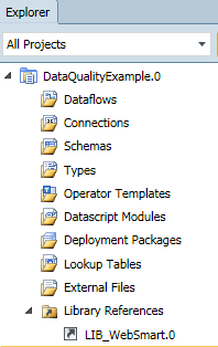 SQL SERVER - A Quick Look at expressor Data Quality Solutions library_reference
