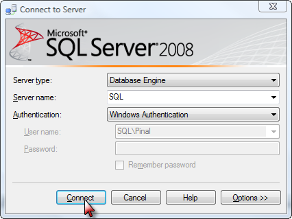 SQL SERVER - Interesting Observation of Logon Trigger On All Servers - Solution loginscreen