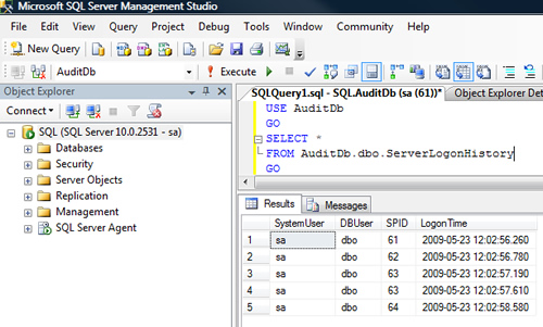 SQL SERVER - Interesting Observation of Logon Trigger On All Servers logintr3