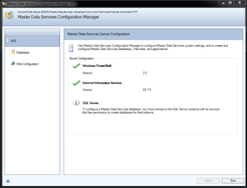 SQL SERVER - Simple Installation of Master Data Services (MDS) and Sample Packages - Very Easy MDS1