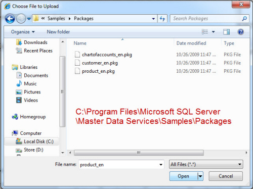 SQL SERVER - Simple Installation of Master Data Services (MDS) and Sample Packages - Very Easy MDS20