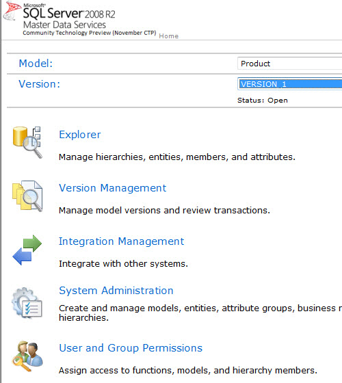 SQL SERVER - Simple Installation of Master Data Services (MDS) and Sample Packages - Very Easy MDS24