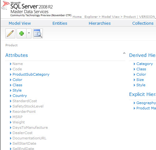 SQL SERVER - Simple Installation of Master Data Services (MDS) and Sample Packages - Very Easy MDS25