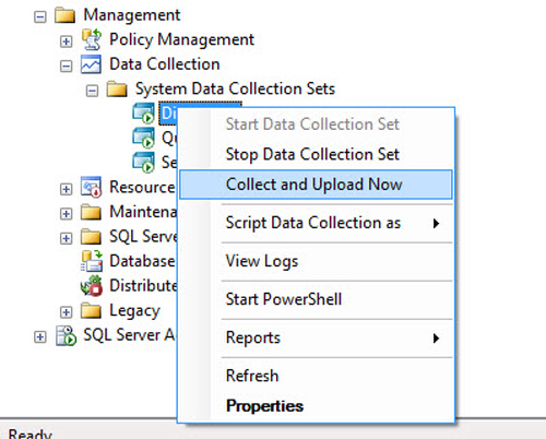 SQL SERVER - Configure Management Data Collection in Quick Steps - T-SQL Tuesday #005 mdw18