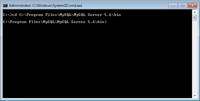 MySQL - How to Connect to MySQL Server on Command Prompt connect1