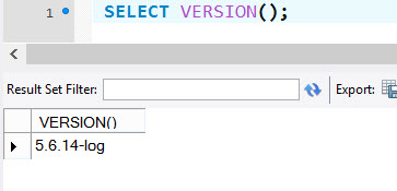 MYSQL - Identifying Current Version of MySQL Server Installation - Part 2 mysqlversion2