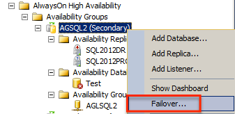 SQL SERVER - Planned and Unplanned Availablity Group Failovers - Notes from the Field #031 nff31-3