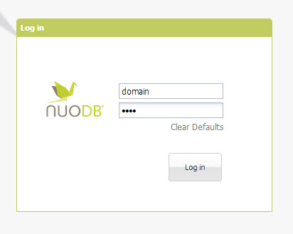SQL - Quick Start with Admin Sections of NuoDB - Manage NuoDB Database 15