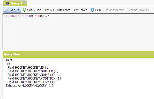 SQL - Quick Start with Explorer Sections of NuoDB - Query NuoDB Database 27