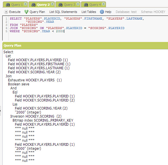 SQL - Quick Start with Explorer Sections of NuoDB - Query NuoDB Database 29
