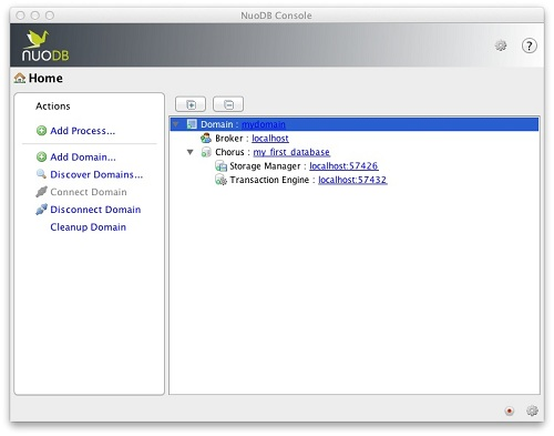 SQL SERVER - Follow up on Beginning NuoDB - Who will Benefit and How to Start - Part 2 nuodbconsole